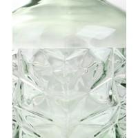 Vaas Facet Recycled glas Roze Groot