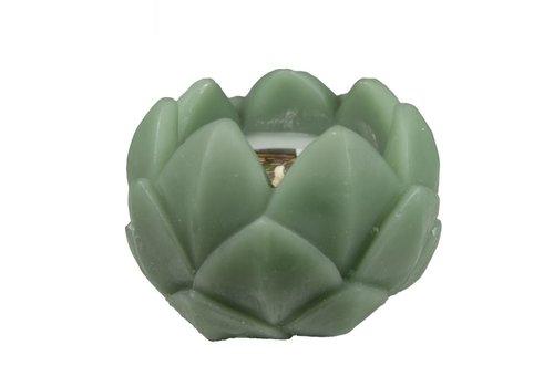 Kaars in de vorm van een Artisjok - Groen
