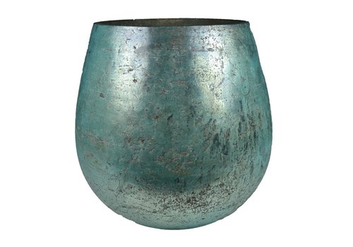 Sfeerlicht druppel glas 'antic gloss' medium