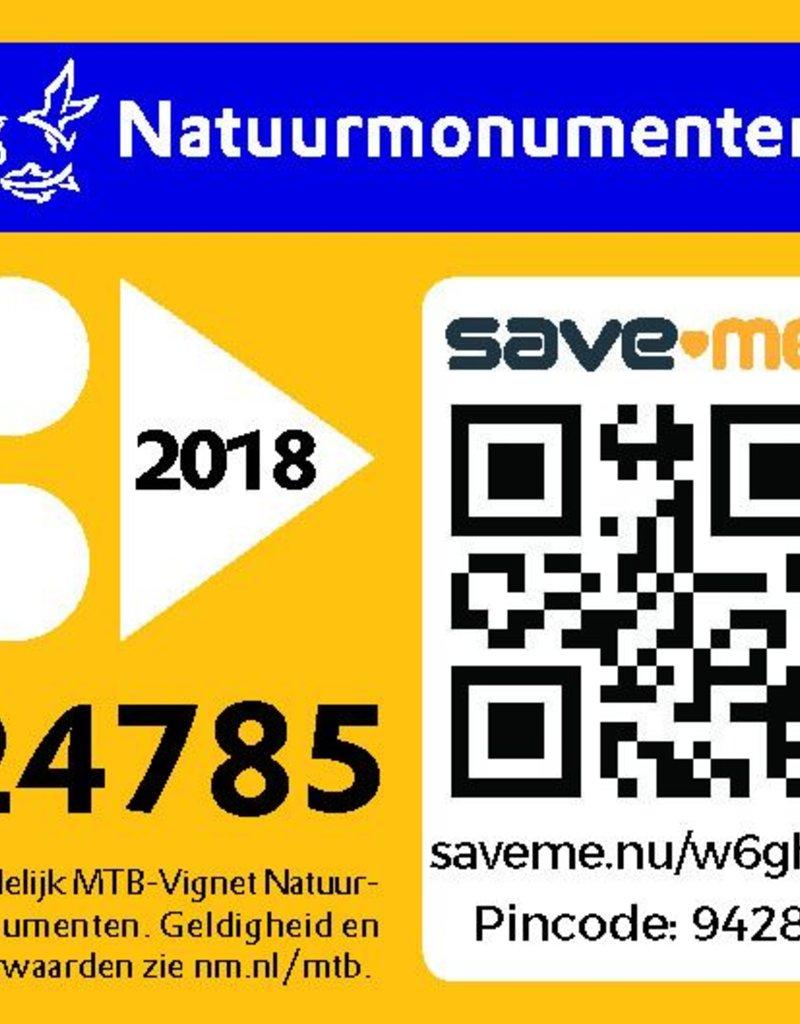 MTB-Vignet 2018 - voor leden van Natuurmonumenten
