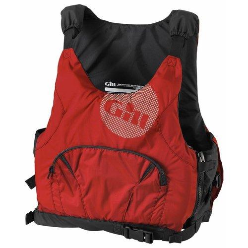 Gill Zwemvest Pro Racer zij-rits rood