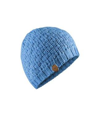 Gill Muts gebreid Waffle Knit blauw