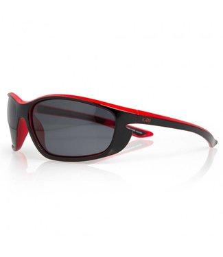 Gill Zonnebril Corona zwart rood