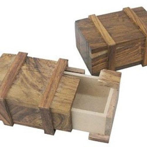 Flyer gifts Geheim houten scheepskistje