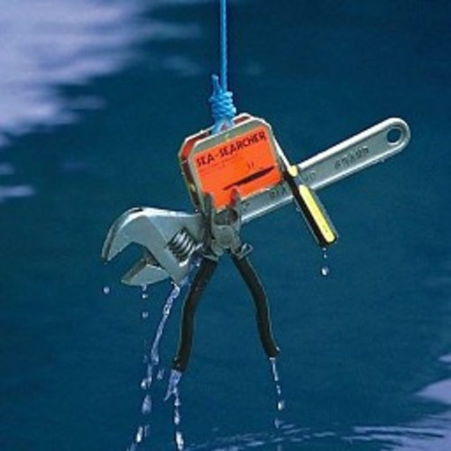 Flyer gifts Magneet Sea searcher tot 65 kilo