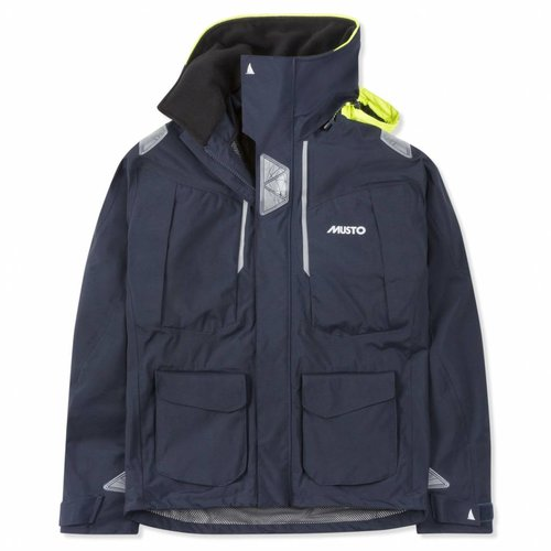 Musto Zeiljas Br2 Offshore jacket heren true navy