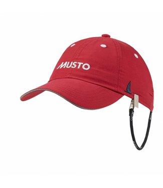 Musto Crew cap fast dry rood