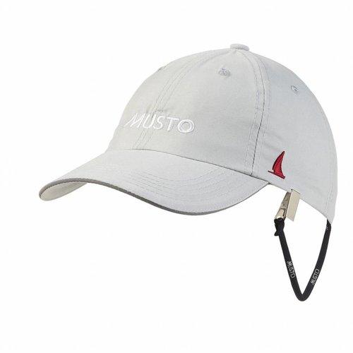 Musto Crew cap fast dry platinum