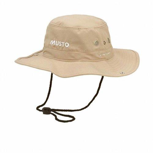 Musto zonnehoed Evo Brimmed Hat beige