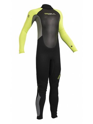 Gul Wetsuit Response junior steamer 3/2mm lime