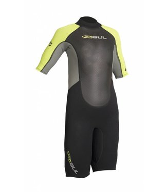 Gul Wetsuit Response junior shorty 3/2mm lime
