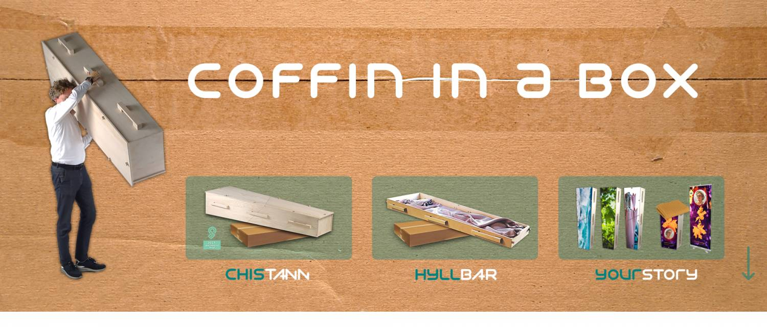 Coffin in a Box webstore