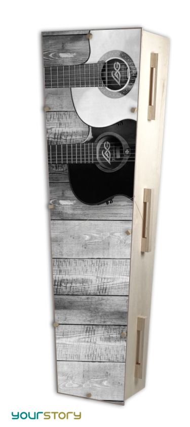 YOURSTORY CHISTANN flat pack eco-coffin with music picture