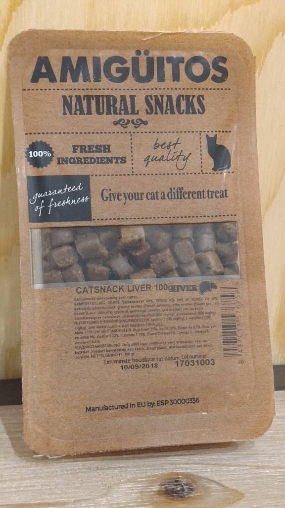 Amiguitos CATSNACK Liver 100 gr.