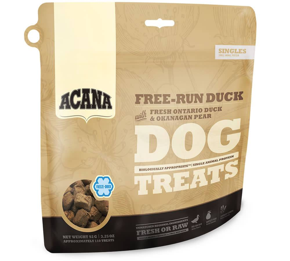 Acana Acana SINGLES FREEZE DRIED TREATS Dog Free-Run Duck