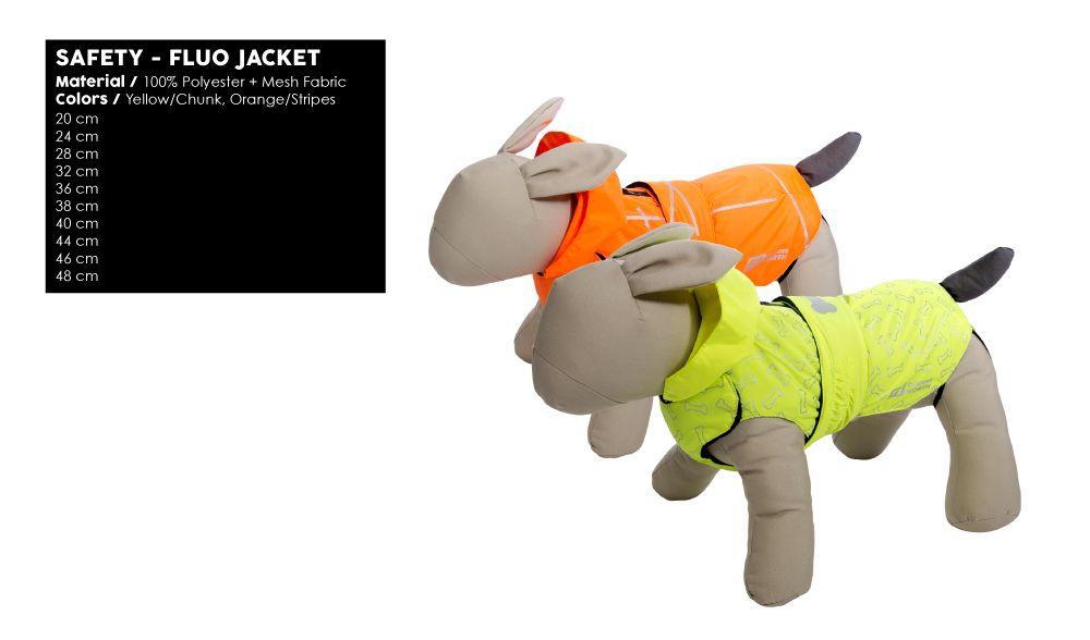 Safety - Dog Coat - Yellow