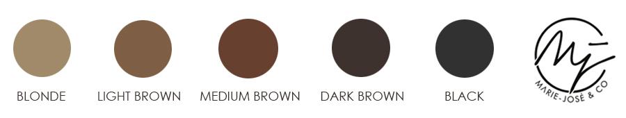 Henna Brows - Augenbrauen Henna - Augenbrauenfarbe