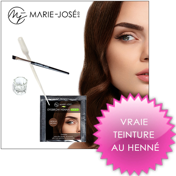 Marie-José & Co Henné pour sourcils