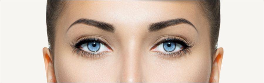 Godefroy: colorer avec la teinture pour sourcils