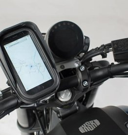 """SW-Motech Universele GPS-kit SW-Motech, voor 22 mm/28 mm/1"""" stuur, incl. Navi Case Pro S"""