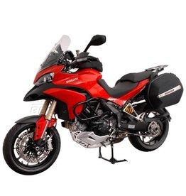 SW-Motech Bagagerek SW-Motech, Quick-Lock Evo-Carr, incl  Aero ABS zijkoffers, Ducati 1200/1200 S '10
