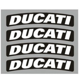 Booster Bandenstickers Booster, Ducati
