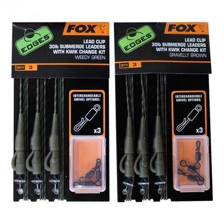 Fox Carp EDGES Submerge Lead Clip Kwik Change Kit