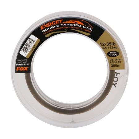 Fox Carp Exocet Double Tapered Line