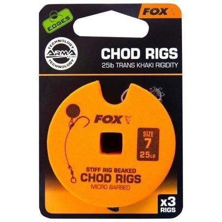 Fox Carp EDGES Standard Chod Rigs