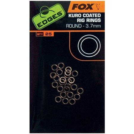 Fox Carp EDGES Kuro Coated Rig Rings