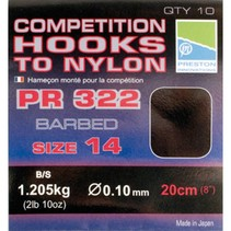 Competition 322 Hooks To Nylon