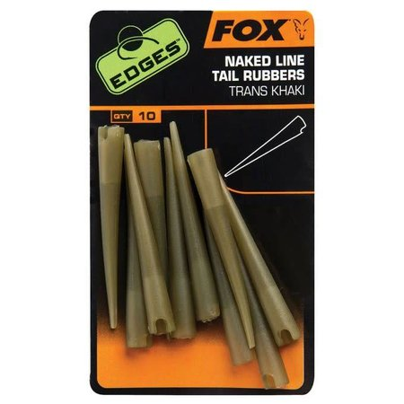 Fox Carp Edges Naked Line Tail Rubbers