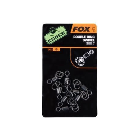 Fox Carp Edges Double Ring Swivels