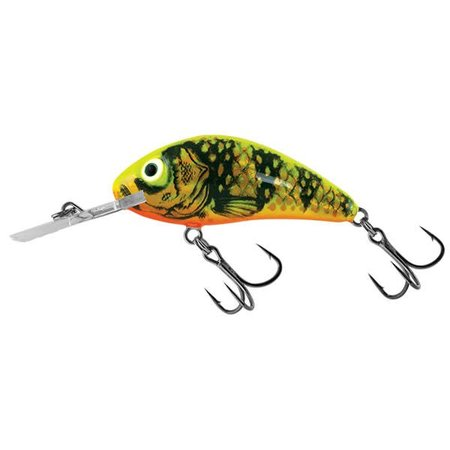 Salmo Rattlin' Hornet Floating 6.5cm Gold Fluo Perch