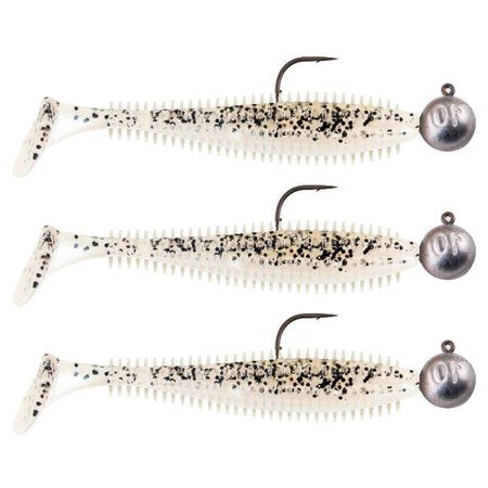 Fox Rage Spikey LOADED Salt n Pepper Shad