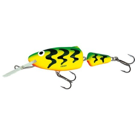 Salmo Frisky Deep Runner 5cm Green Tiger