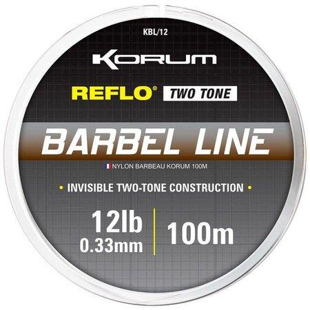 Korum Reflo Two Tone Barbel Line