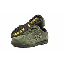 Green Trainers Size 9
