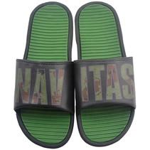Black / Camo Sliders Size 8