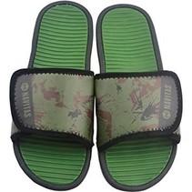 Velcro Camo Sliders Size 10