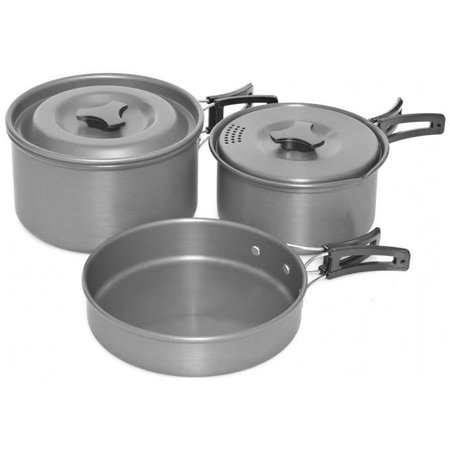 Trakker Armolife Three-Piece Cookware Set