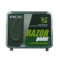 Razor Point Short Curve Shank Hooks