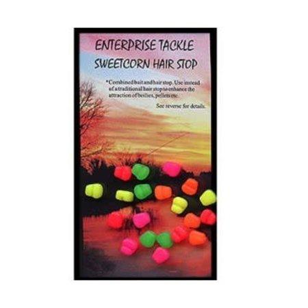 Enterprise Tackle Mini Mixed Fluoro Sweetcorn Hair Stops