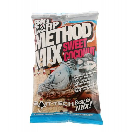 Bait-Tech Big Carp Method Mix: Sweet Coconut