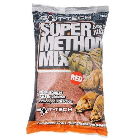 Bait-Tech Super Method Mix Red