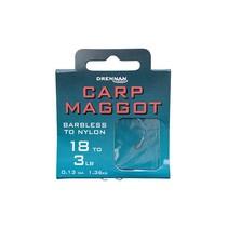 Barbless Carp Maggot Hooks To Nylon
