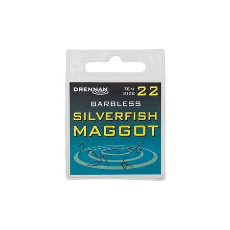 Drennan Barbless Silverfish Maggot Hooks