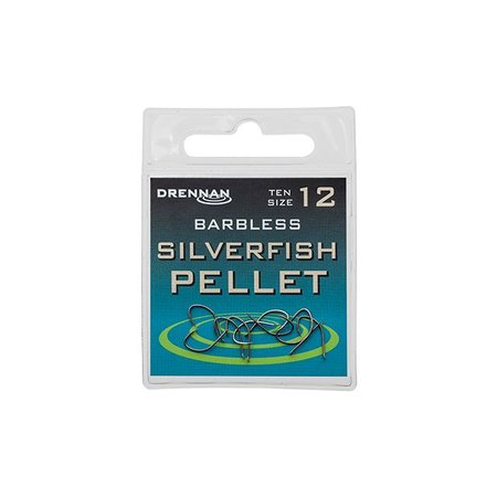 Drennan Barbless Silverfish Pellet Hooks