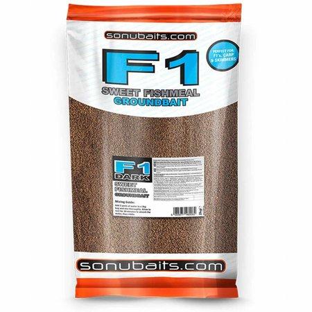Sonubaits F1 Dark Sweet Fishmeal Groundbait