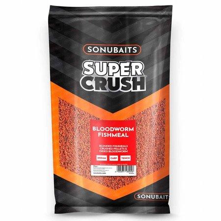 Sonubaits Supercrush Bloodworm Fishmeal Groundbait